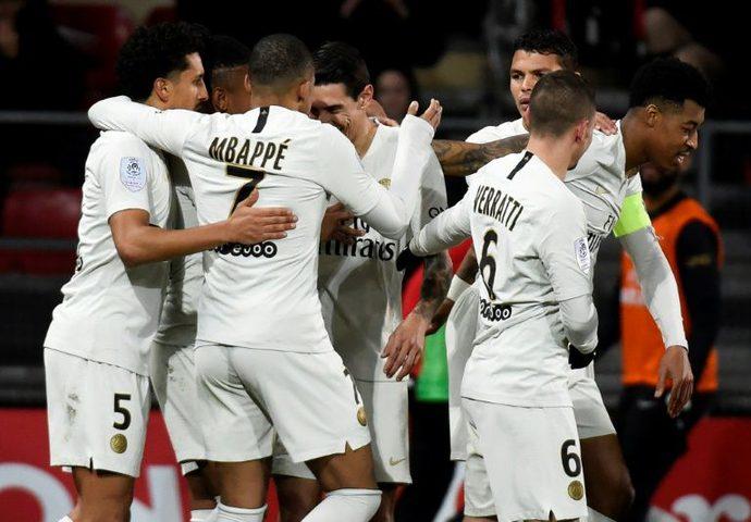 باريس سان جيرمان يبلغ  نهائي كأس الرابطة الفرنسية