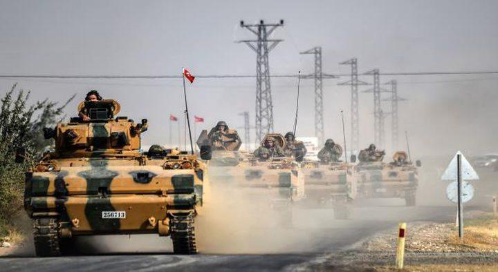امدادات عسكرية على الحدود السورية التركية