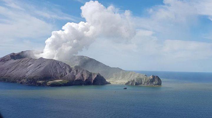 ارتفاع عدد قتلى بركان نيوزيلندا إلى 20