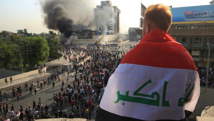 مقتل متظاهر برصاص مجهولين في بغداد