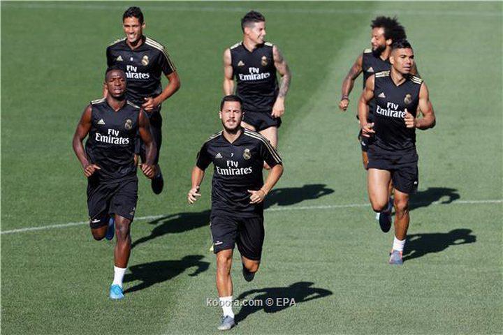 تدريبات ريال مدريد تشهد عودة هازارد