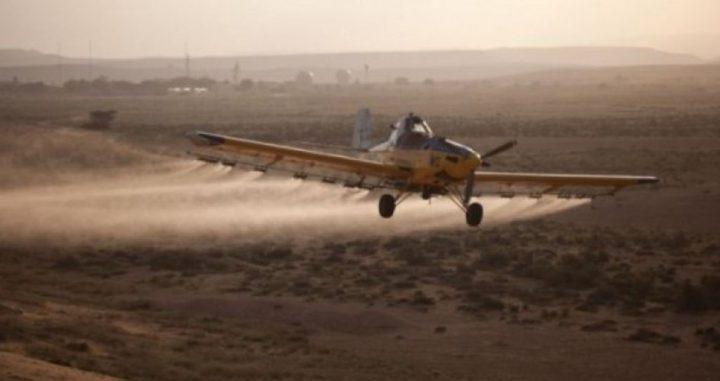 ما هي قيمة خسائر مزارعي غزة نتيجة رش الاحتلال مزروعاتهم؟