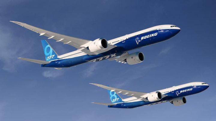 """الرحلة الأولى لطائرة المسافات الطويلة بوينغ """"777 إكس"""""""