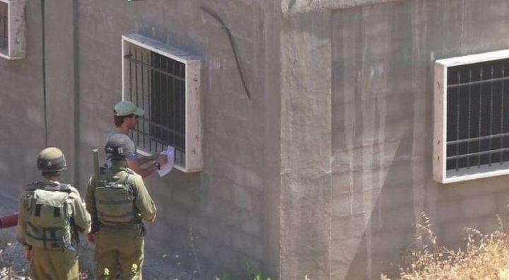 قوات الاحتلال تخطر بهدم منزل الناشط المقدسي محمد ابو الحمص