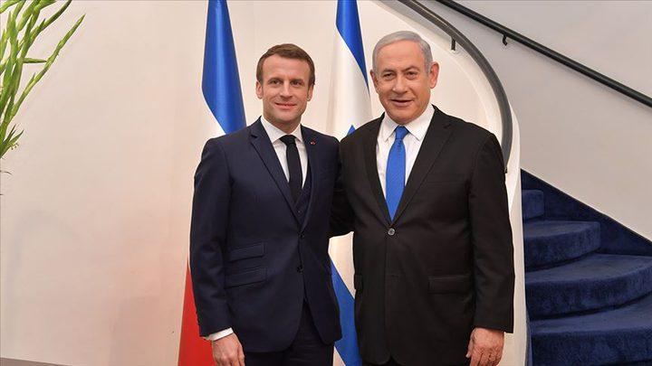 نتنياهو يدعو فرنسا للضغط على إيران بشأن برنامجها النووي