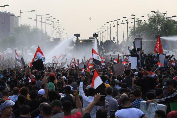 مقتل متظاهرين في اشتباكات بين المحتجين وقوات الأمن العراقية