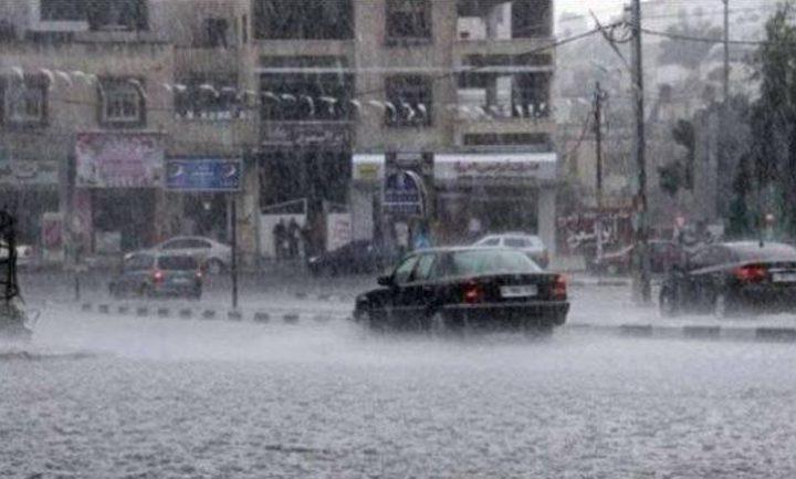 طقس فلسطين : استمرار هطول الأمطار وأجواء باردة جداً