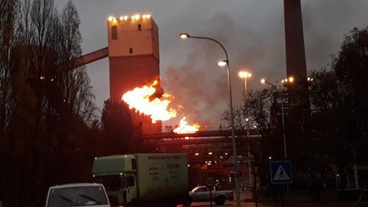 انفجار في أحد المباني الصناعية بولاية تكساس