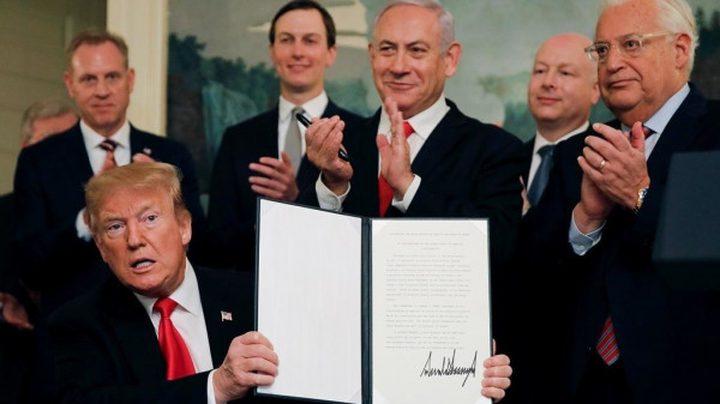 ترامب: سيتم الإعلان عن صفقة القرن قبل الثلاثاء القادم