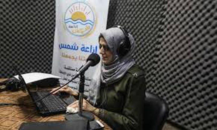 شمس، أول إذاعة للمكفوفين في قطاع غزة