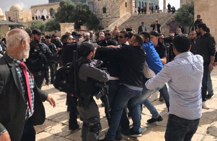 """الأردن تدين اعتداء الاحتلال على المصلين في """"الأقصى"""""""
