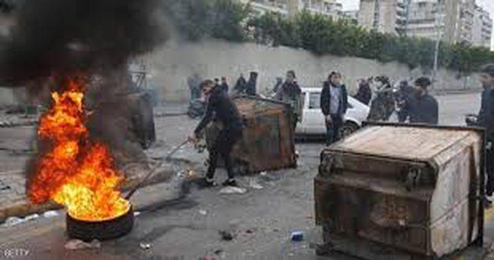 جرحى باعتداء على محتجين لبنانيين