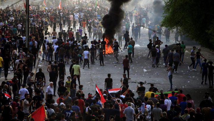 العراق: اقتحام لساحات الاعتصام في البصرة وكربلاء