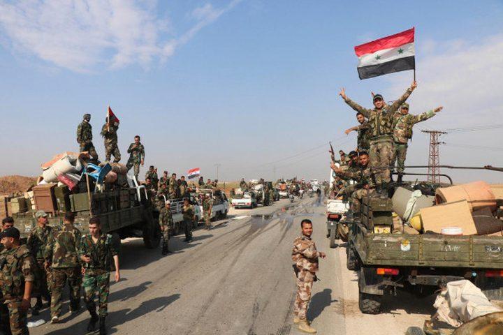 الجيش السوري يسيطر على  مناطق في ريف إدلب الجنوبي