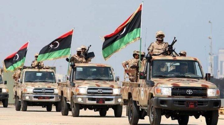 الجيش الوطني الليبي يحكم السيطرة على بلدتين شرقي مصراتة
