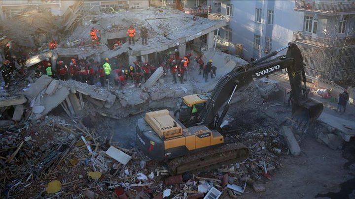 تركيا.. ارتفاع حصيلة ضحايا الزلزال إلى 35 قتيلا