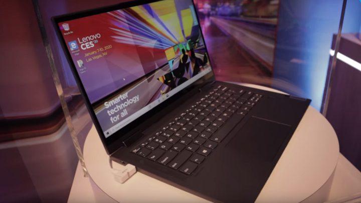 Lenovo تعرض رسميا أول حاسب محمول لشبكات 5G