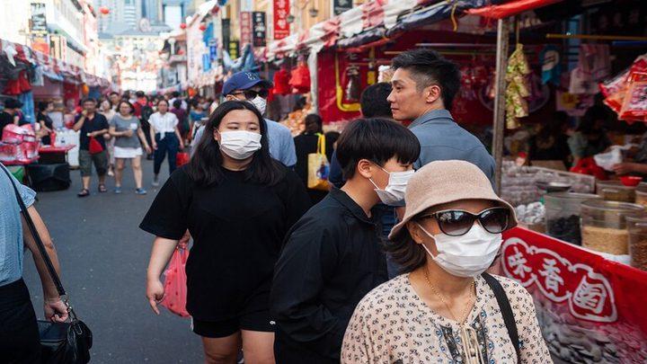 بداية أنتشار الفيروس الصيني الخطير