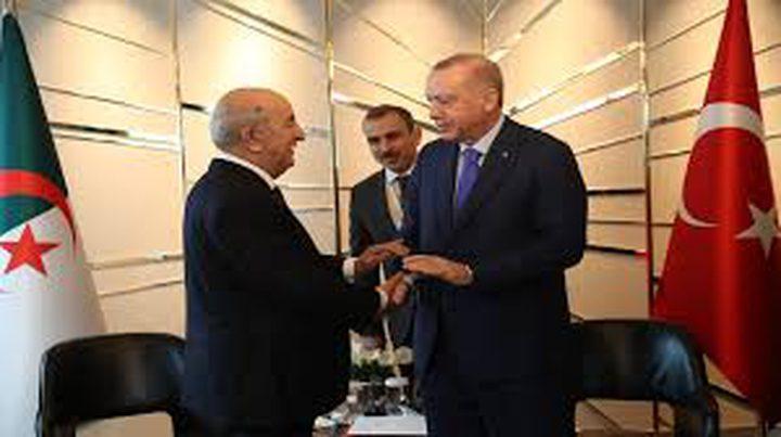 أردوغان يؤكد حرص بلاده على أمن الجزائر واستقرارها