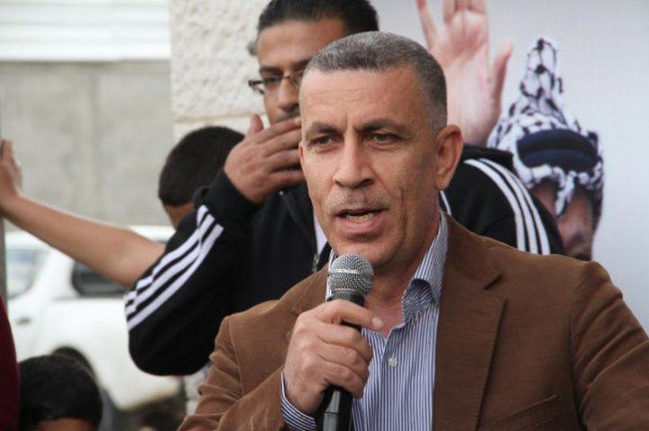 اشتيوي:تحركات شعبية واسعة لمواجهة قرارات الاحتلال الأربعاء القادم