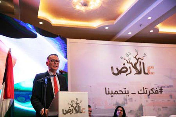 """المصري يعتزم تطبيق مبادرة """"عالارض"""" بمسافر يطا"""