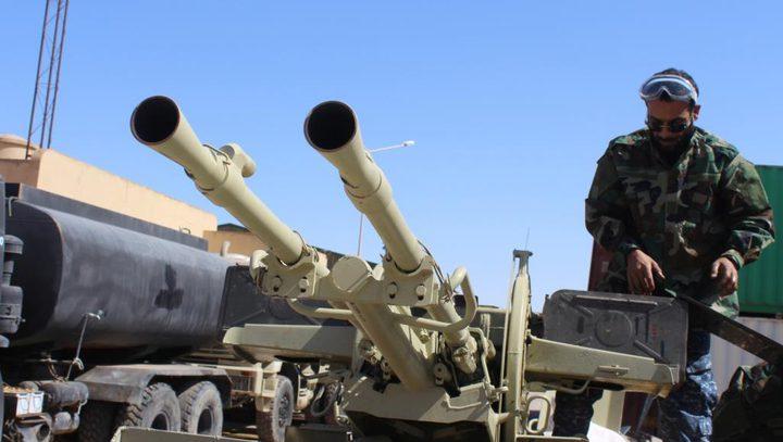 قوات حفتر تتقدم  غرب ليبيا