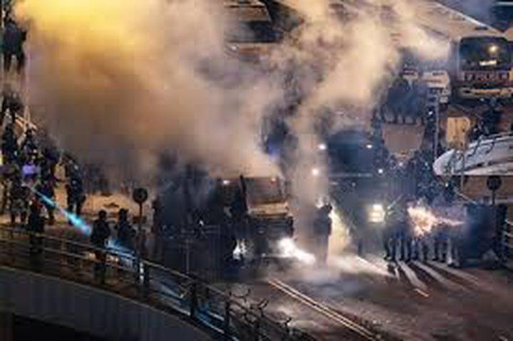 انفجار في مستشفى بهونج كونج