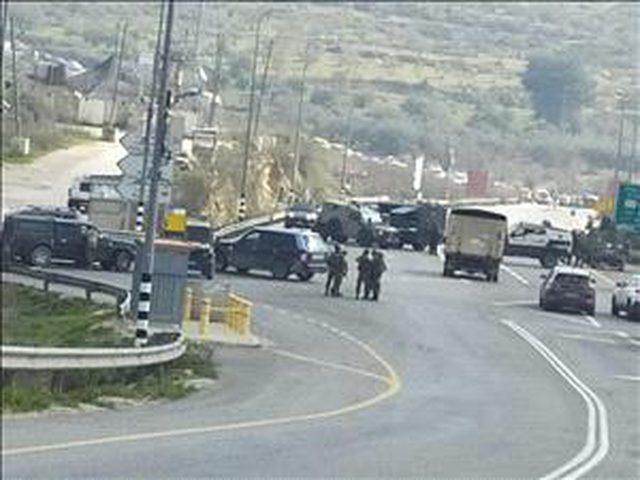"""الاحتلال يغلق حاجز """"جيت"""" العسكري الواصل بين شمال الضفة وجنوبها"""