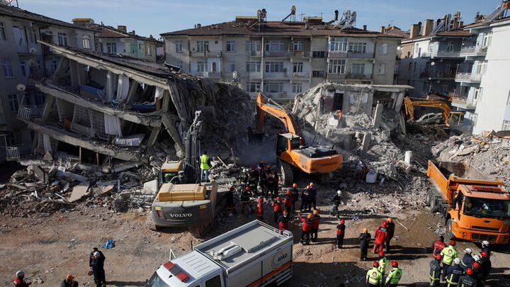 ارتفاع حصيلة ضحايا الزلزال في تركيا الى 41 شخصا