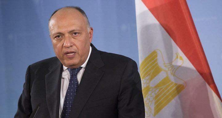 """مصر تدعو لدراسة متأنية حول خطوة ترامب بإعلان """"صفقة القرن"""""""