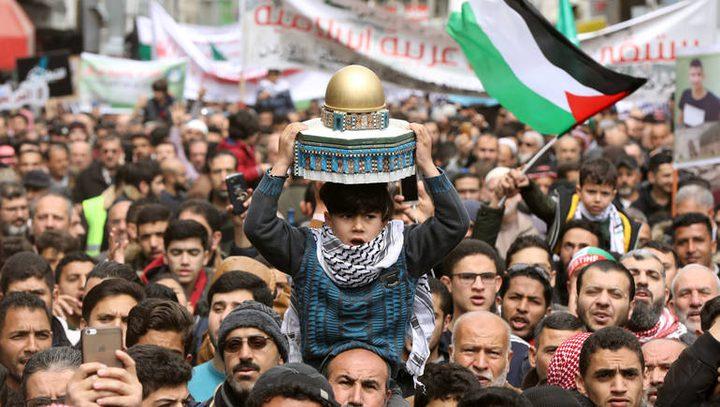 تواصل ردود الفعل الأردنية المنددة لصفقة القرن