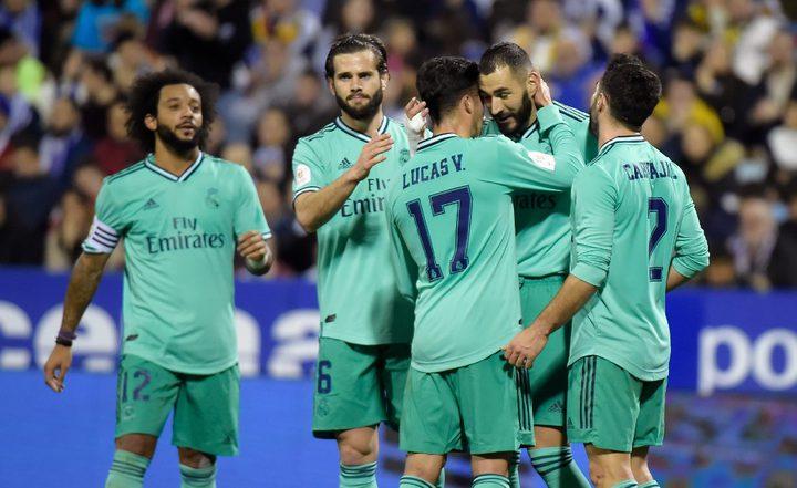 ريال مدريد يتفوق على سرقسطة بأربعة أهداف