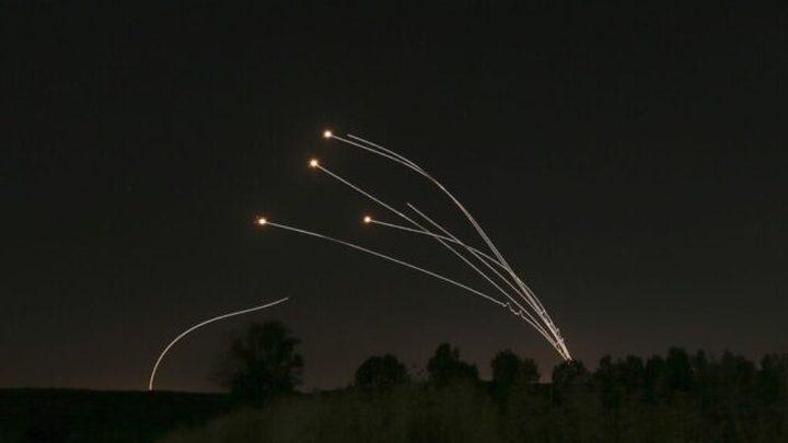 الاحتلال يزعم: القبة الحديدية اعترضت صواريخ أطلقت من غزة