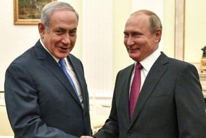 نتنياهو يطلع بوتين على تفاصيل صفقة القرن