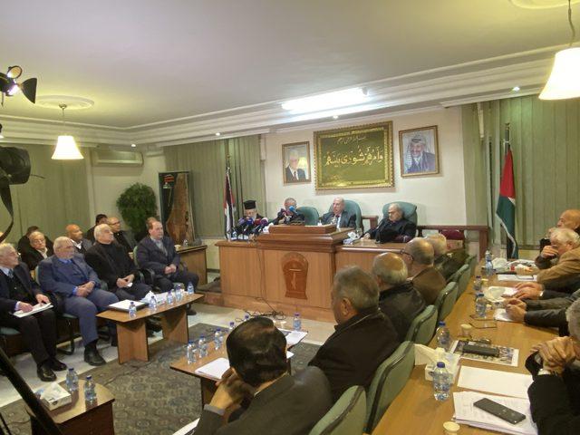 """المجلس الوطني يؤكد رفضه القاطع لـ""""صفقة المؤامرة"""""""
