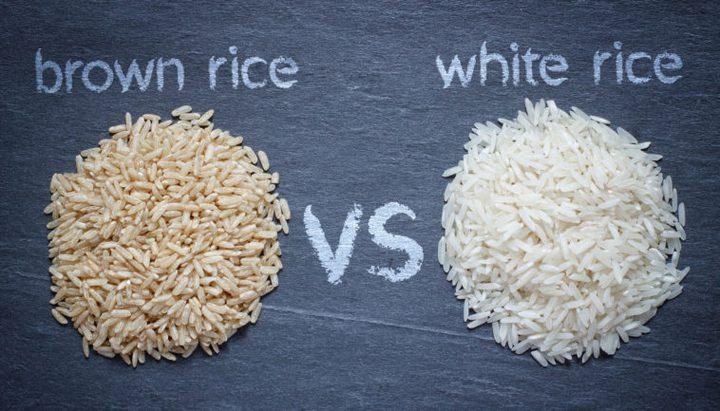 أبرز الاختلافات الرئيسية بين الأرز البني والأبيض