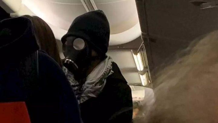 تأخير إقلاع طائرة أمريكية بسبب خوف مسافر من الكورونا!
