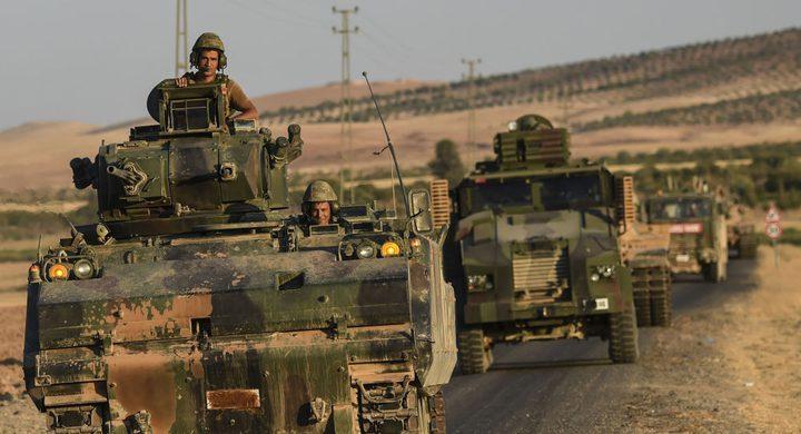 تركيا ترسل قوات عسكرية إلى إدلب