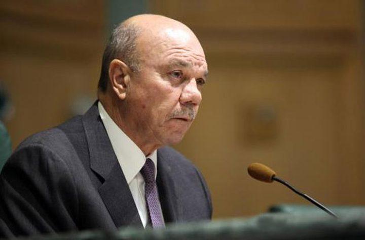 """الفايز: الأردن يرفض """"صفقة القرن"""""""