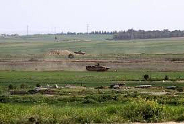 الاحتلال يطلق النار على المزارعين ويتوغل شرق جباليا