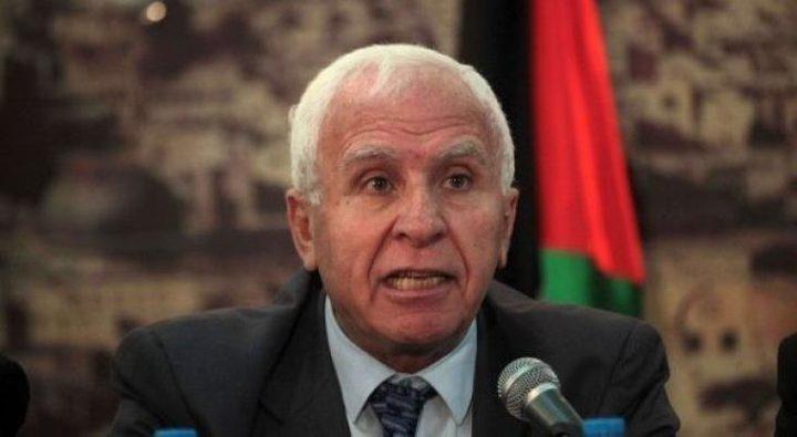 الأحمد: تأجيل زيارة وفد الفصائل لغزة سببه أن حماس غير جاهزة