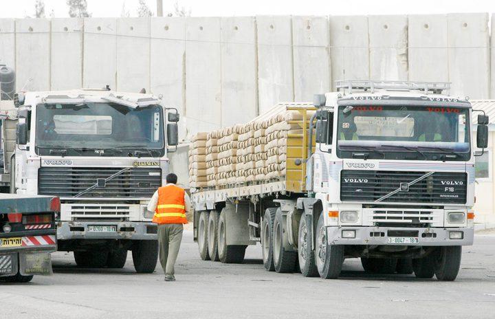 قرار منع ادخال المنتجات الإسرائيلية يدخل حيز التنفيذ