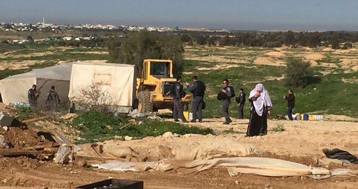 الاحتلال يهدم قرية العراقيب للمرة 174