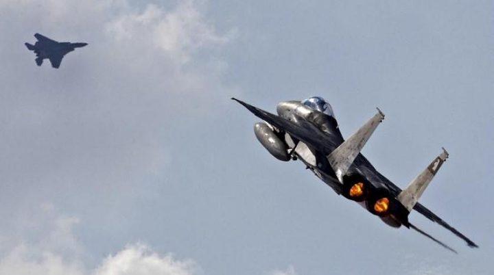 الطائرات الإسرائيلية تستهدف محيط دمشق