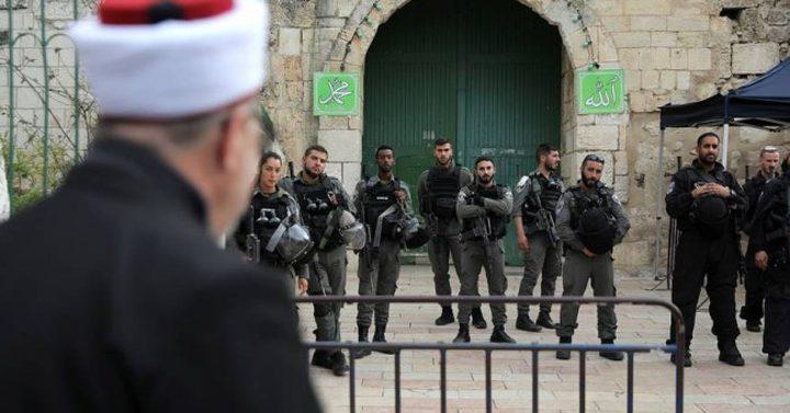 شرطة الاحتلال تمنع وصول المصلين من الجليل والمثلث للأقصى