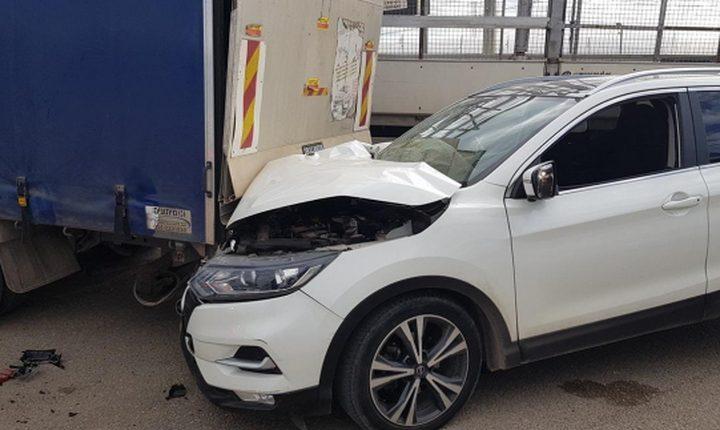 إصابتان في حادث سير قرب جديدة المكر