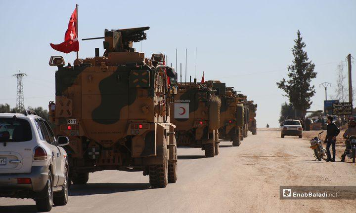 تعزيزات عسكرية تركية في إدلب