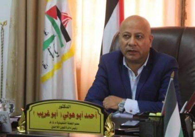"""أبو هولي يوكد ضرورة استمرار الضغط الدولي للتصدي لـ""""صفقة القرن"""""""
