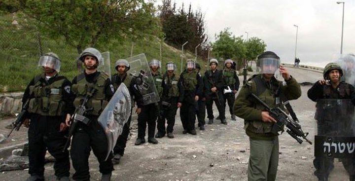 أريحا: قوات الاحتلال تعزز من تواجدها في شارع العوجا