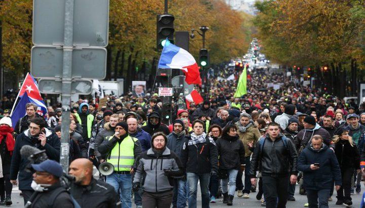 """فرنسا: اعتصام في مدينة نانتير  تنديداً بـ""""صفقة القرن"""""""